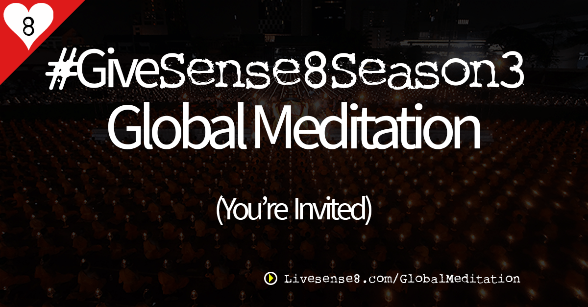 #GiveSense8Season3 Global Mediation by Sheila Applegate