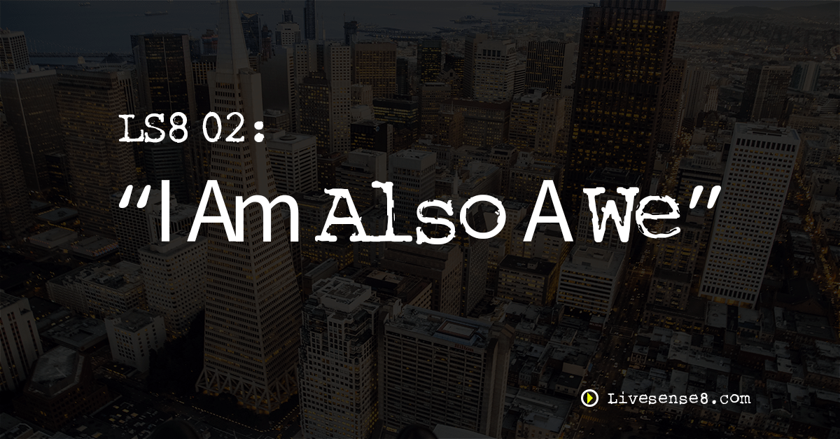 LS8 02: I Am Also A We