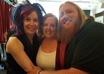 Lana Wachowski, Sheila Applgate, & Zac Hansen