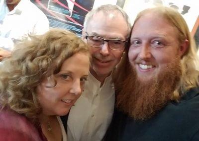 Sheila Applegate, John Toll, & Zac Hansen