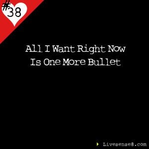 LS8 38 All I want right now is one more bullet - Livesense8.com The Live Sense 8 Podcast Cover Image